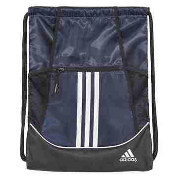 Adidas 時尚聯盟抽繩後背包-深藍色【預購】