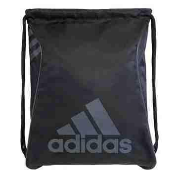 Adidas時尚Burst爆裂抽繩後背包-黑色【預購】