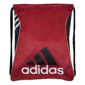 Adidas 時尚Burst爆裂抽繩後背包-紅色【預購】