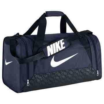 【Nike】時尚巴西利亞中行李袋-深藍色【預購】