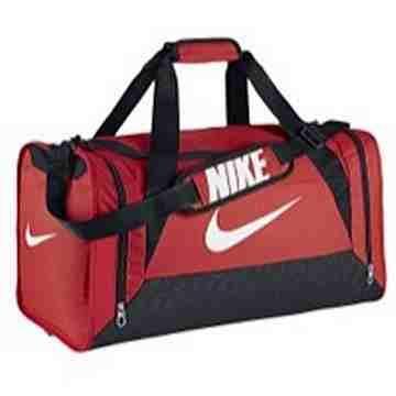 【Nike】時尚巴西利亞中行李袋-紅色【預購】