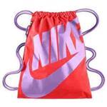 【Nike】時尚Logo標誌抽繩小背包-櫻紅色【預購】
