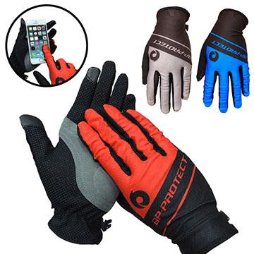 防曬透氣觸控手套 T-03 M/L/XL 紅/藍/灰