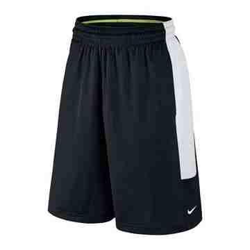 Nike 男時尚Cash籃球黑白色休閒運動短褲