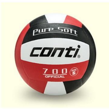 CONTICONTI 超軟橡膠排球(5號球) V700-5-WBKR