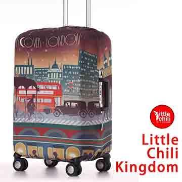 LittleChili行李箱套517-倫敦彩-M