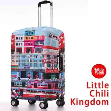 LittleChili行李箱套517-曼谷彩-M