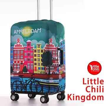 LittleChili行李箱套517-阿姆斯特丹-L