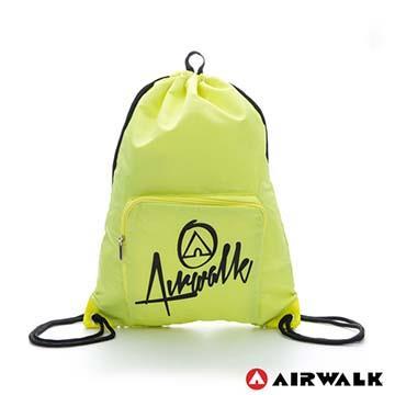 AIRWALK - 第二代束口袋 -黃