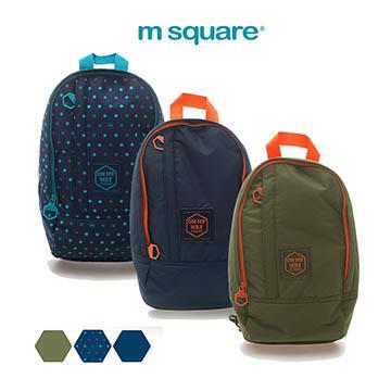 M Square休閒單肩跨胸包