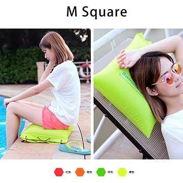 M Square戶外沙灘收納袋/充氣坐墊