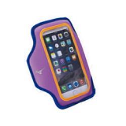 MIZUNO 美津濃 運動 跑步 輕量防水 可觸控 手機臂套 手臂包 D3TY602067 紫