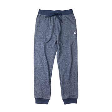 AIRWALK -休閒舒適針織長褲-藍