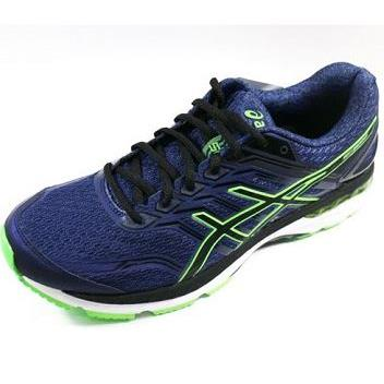 ASICS 亞瑟士 (男) 慢跑鞋 GT-2000 5 - T707N-4990 深藍/螢光綠