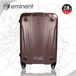EMINENT 輕鋁框霧面PC飛機輪旅超行箱-行李箱-28吋