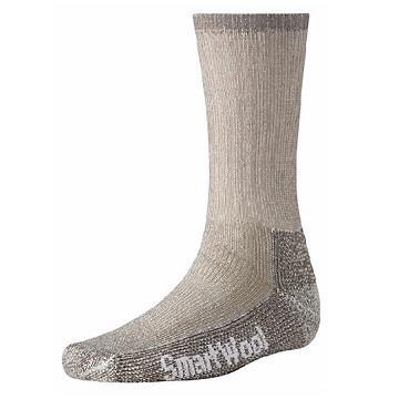 SmartWool-登山加厚羊毛襪-重量級減震型徒步中長襪 灰褐色 SW0SW131236