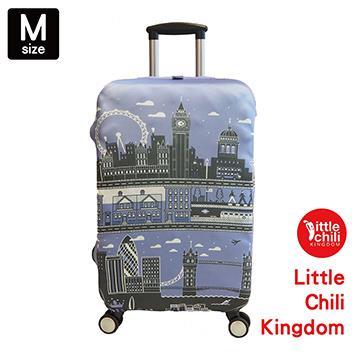 LittleChili行李箱套534-英國倫敦藍-M