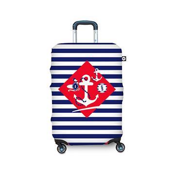 【BG Berlin】行李箱套-航海風情 L (適用26-29吋行李箱)
