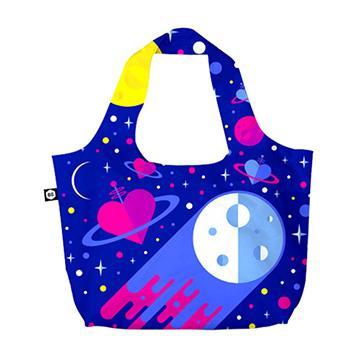 【BG Berlin】摺疊環保袋-藍色星球