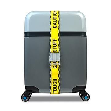 【BG Berlin】行李綁帶- 黃色警示