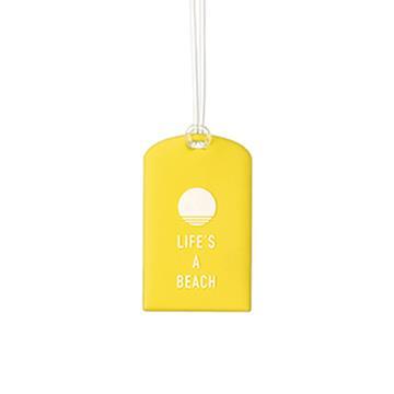 【Go Travel】Glo 行李吊牌兩件組 - 黃色氣球