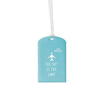 【Go Travel】Glo 行李吊牌兩件組 - 藍色飛機