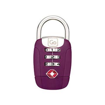 【Go Travel】TSA 旋轉密碼鎖-紫色