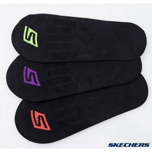 SKECHERS 女襪 隱形襪 S101585-001 SIZE22-25cm 一組三雙 共兩組六雙
