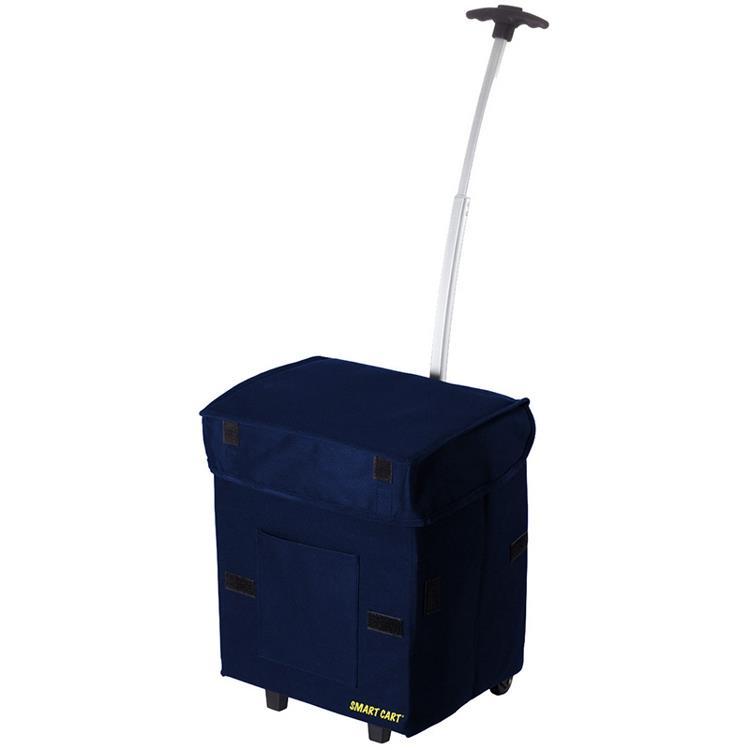Smart Cart 輕巧折疊拉桿箱 (藍色)