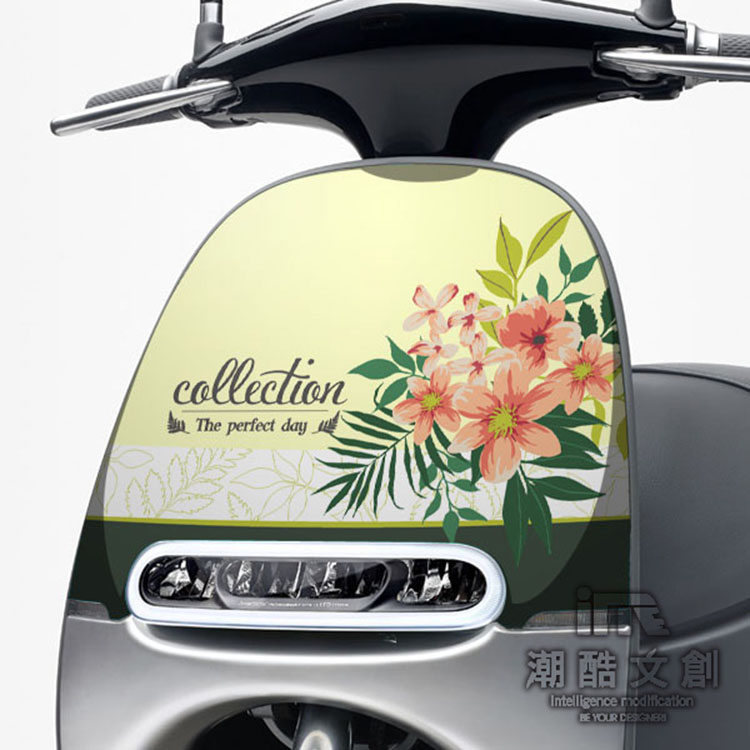 GOGORO面板貼 《潮酷文創》創意保護貼 獨特車貼 車膜 / GR008-Collection