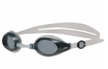 SPEEDO  MARINER 近視 -6.0~-7.0 度數  泳鏡 黑-灰