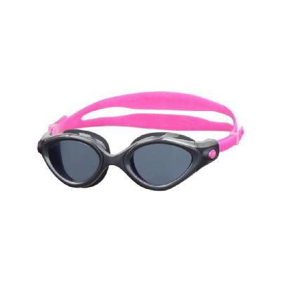 SPEEDO成人女用進階泳鏡 Futura Biofuse 粉紅-灰SD810895B566