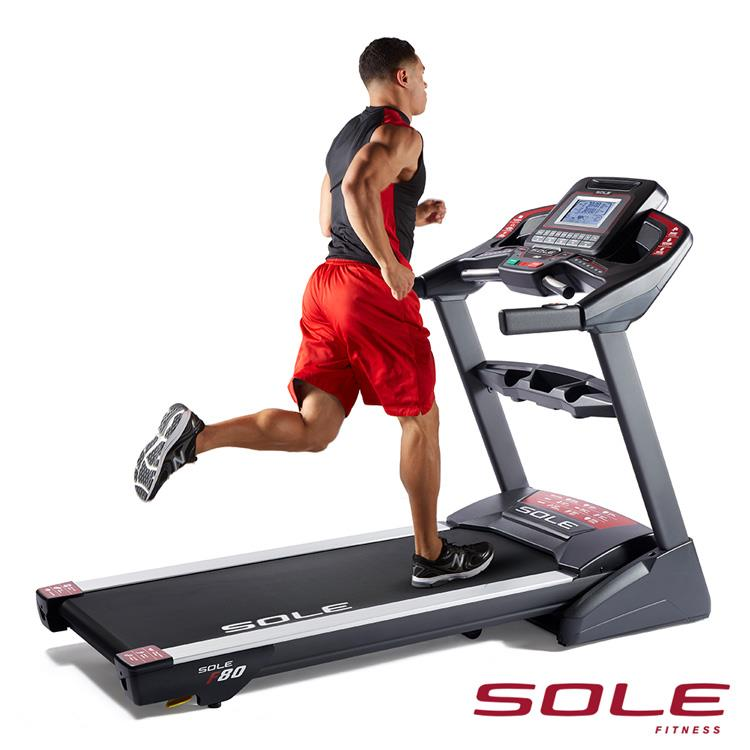 SOLE F80 索爾 電動跑步機|居家生活款|勁能黑