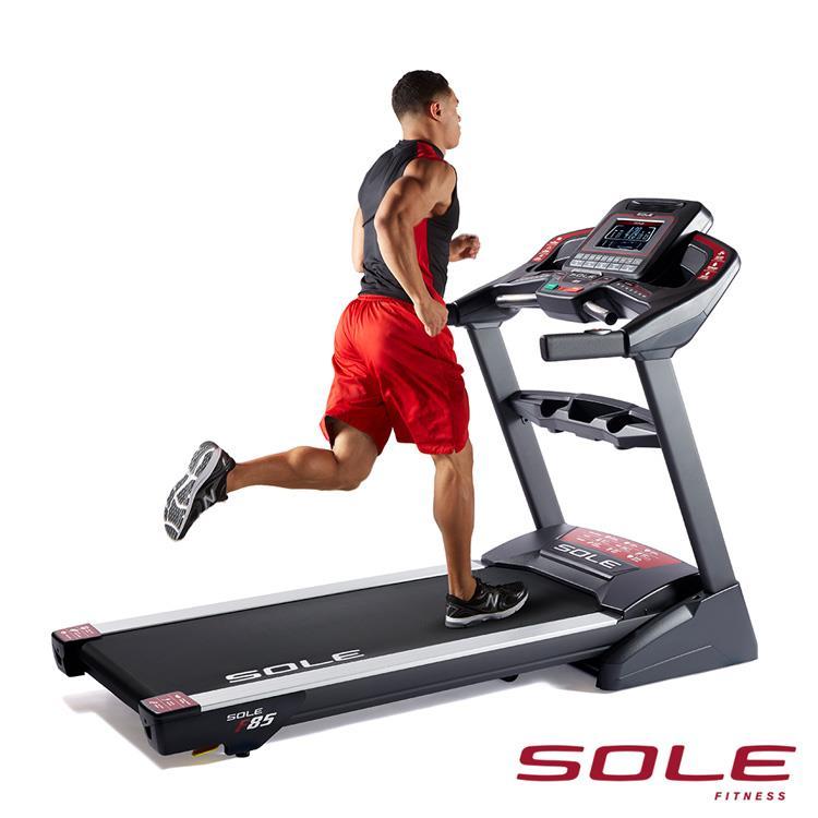 SOLE F85 索爾 電動跑步機|居家頂級款|勁能黑