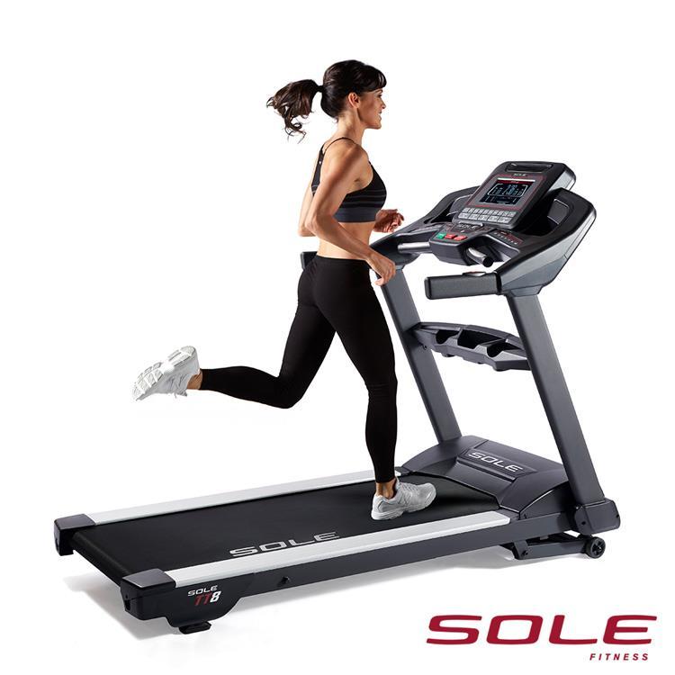SOLE TT8 索爾 電動跑步機|商用專業款|勁能黑
