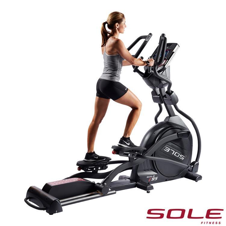 SOLE E95 索爾 橢圓機|居家頂級款|勁能黑