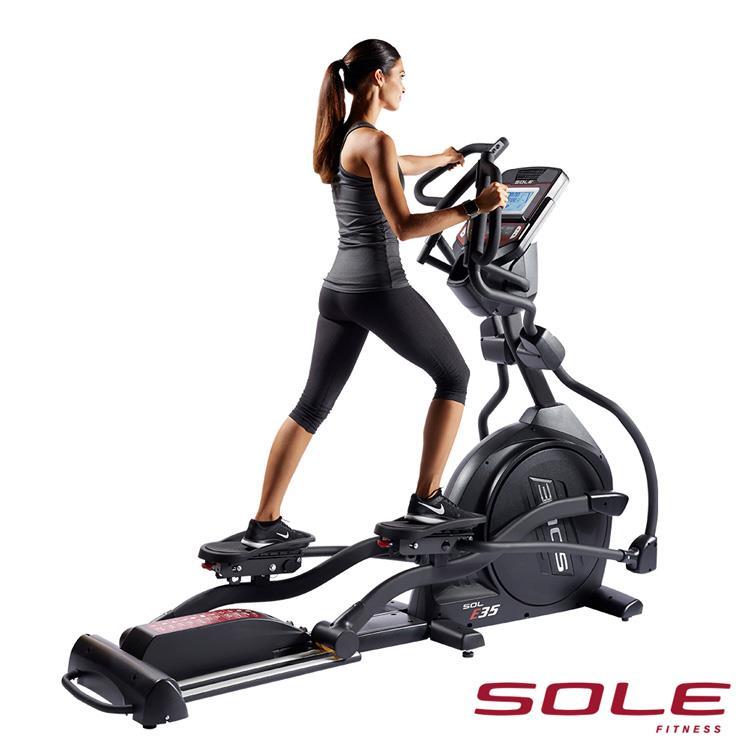 SOLE E35 索爾 橢圓機|居家生活款|勁能黑