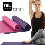 muva 高彈力環保雙面防滑瑜珈墊-兩色