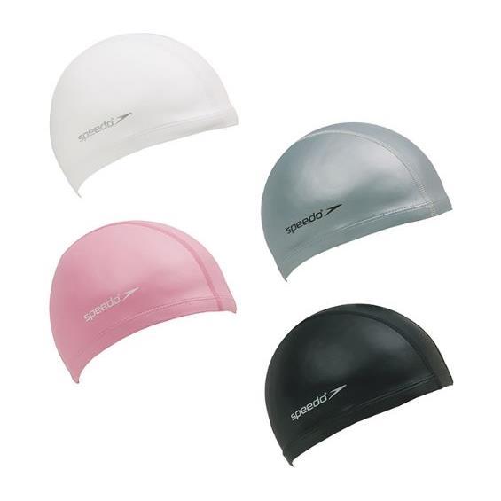 SPEEDO 成人 合成泳帽 Ultra Pace SD801731---- (黑/白/銀/粉)四色