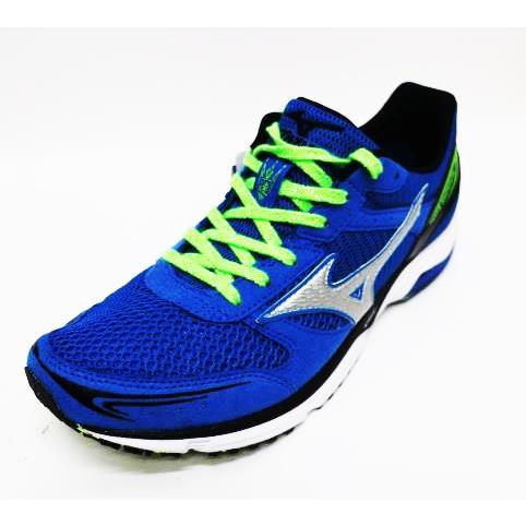 [買就送束口袋]美津濃MIZUNO 輕量 高抓地力 耐磨 馬拉松 (男)路跑鞋 WAVE EMPER