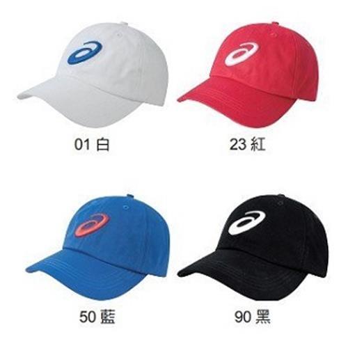 [陽光樂活] ASICS 亞瑟士 GENERAL 四色 棒球帽 鴨舌帽 老帽 大LOGO - Y31