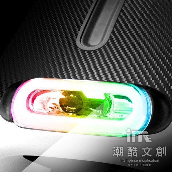 《潮酷文創》GOGORO 2幻彩燈膜組 大燈 方向燈 側燈 保護貼 車貼 車膜 / GS2002