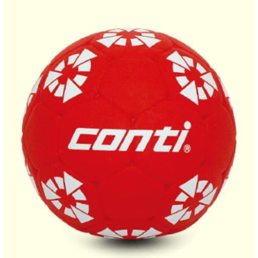 CONTI 獨特專利橡膠材質 超軟橡膠巧固球(2號球) 紅 OTCHB2N-R