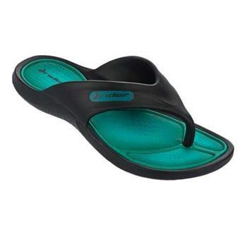 RIDER CAPE 時尚機能夾腳鞋 男 黑綠 RI8168723621