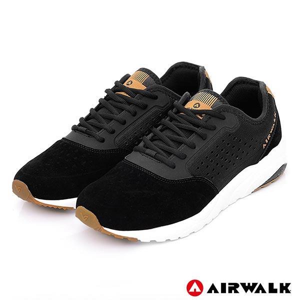 【美國 AIRWALK】動感熱力經典運動鞋(男)-黑