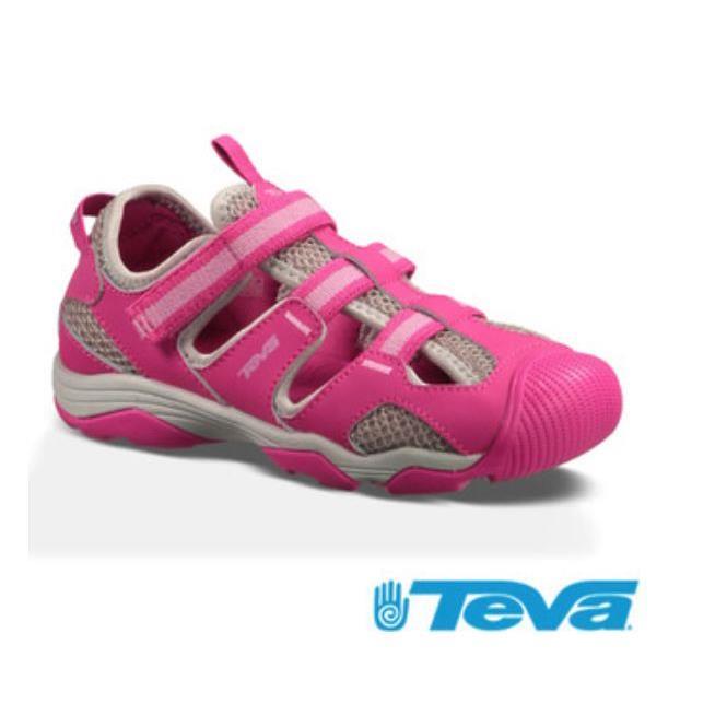 4c308b2cf088 TEVA女童護趾避震耐磨抗菌防臭運動涼鞋TV110011JPKG 粉色
