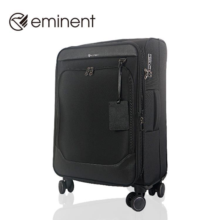 【EMINENT雅仕】2018商務推薦款-搶眼黑寵時尚新魅力旅行箱 行李箱_20吋