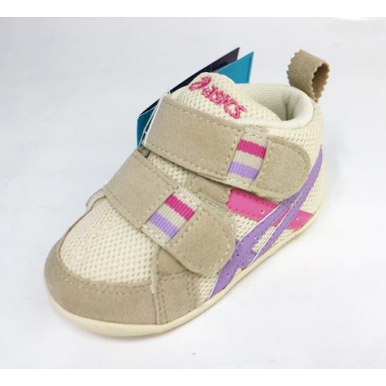 ASICS 亞瑟士 嬰幼 高筒透氣大開口童鞋 FABLE FIRST TUF110-0535(米粉紫