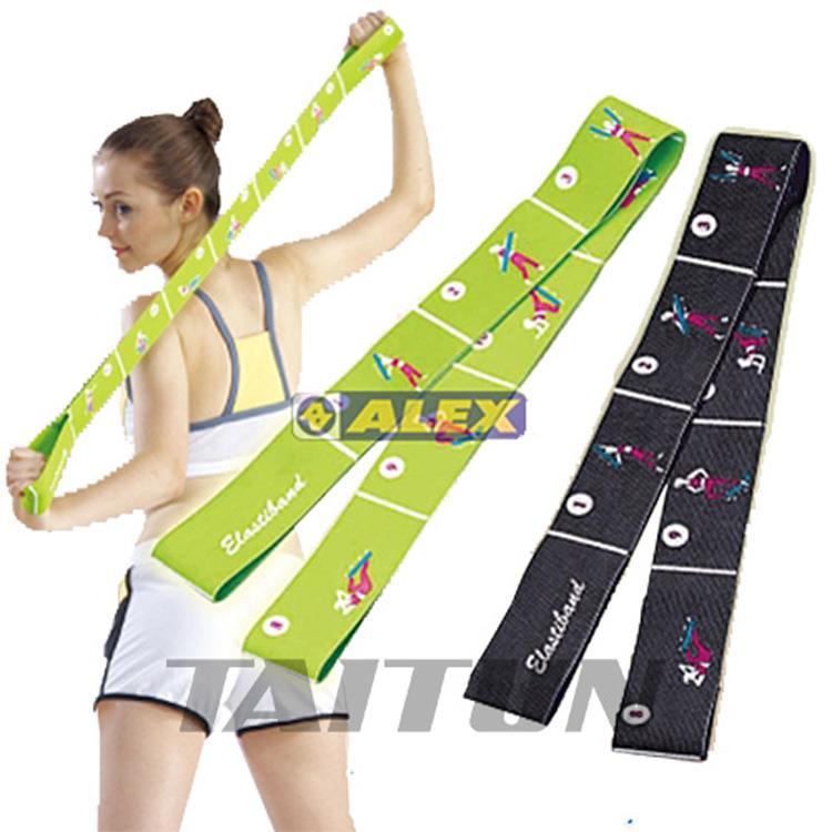 【ALEX】美姿拉力帶(只)黑色/草綠(曲線局部雕塑/輔助雕塑體態)