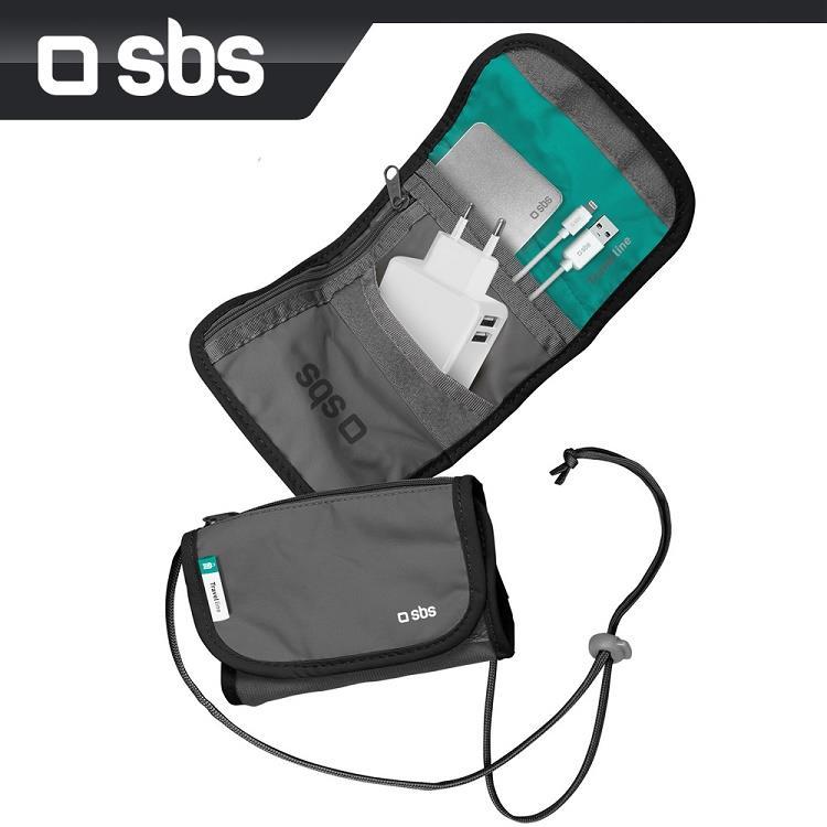 sbs 旅用多格收納隨身小包